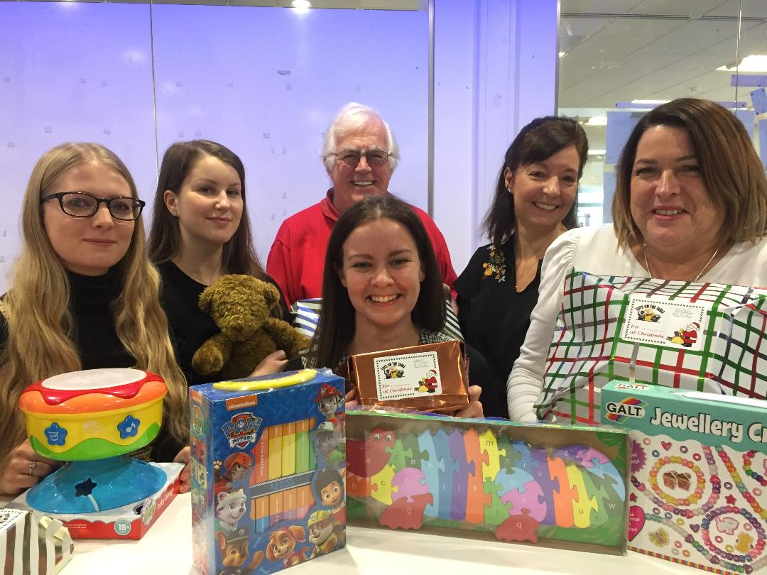 CADENT STAFF DID DEEP TO LIGHT UP CHRISTMAS FOR HARD UP YOUNGSTERS
